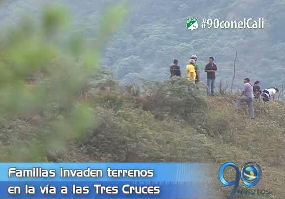 Surge nueva invasión irregular en el cerro de las Tres Cruces