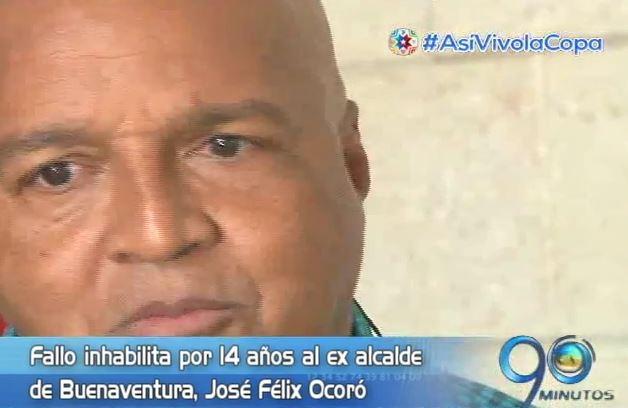 Inhabilitado por 14 años al exalcalde de Buenaventura José Félix Ocoró
