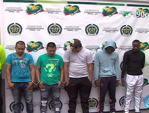 Policía desarticuló la banda de 'Los Diablitos'