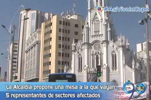 Manifestantes de la Ermita esperan mesa de concertación con la Alcaldía