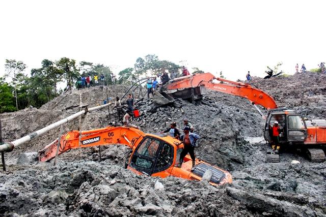 Policía intervino 5 minerias ilegales en Valle y Cauca
