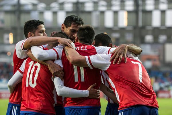 En un apretado encuentro, Paraguay venció a Jamaica