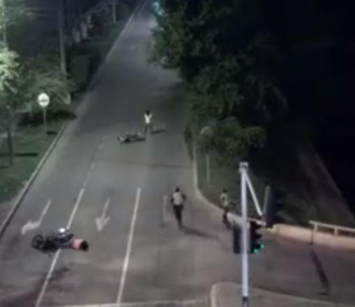 Policía reveló video donde uniformados repelen a sicarios