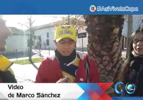 Los hinchas colombianos siguen compartiendo sus fotos y videos a través de #AsíVivolaCopa