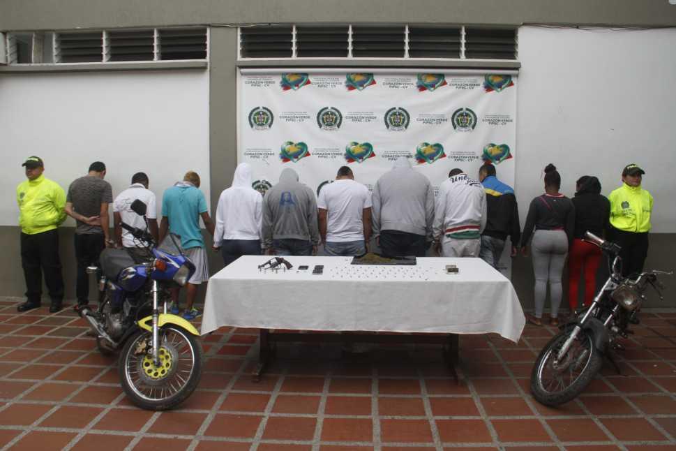 Policía capturó la banda 'El Manicero', sindicada de 20 homicidios en Cali