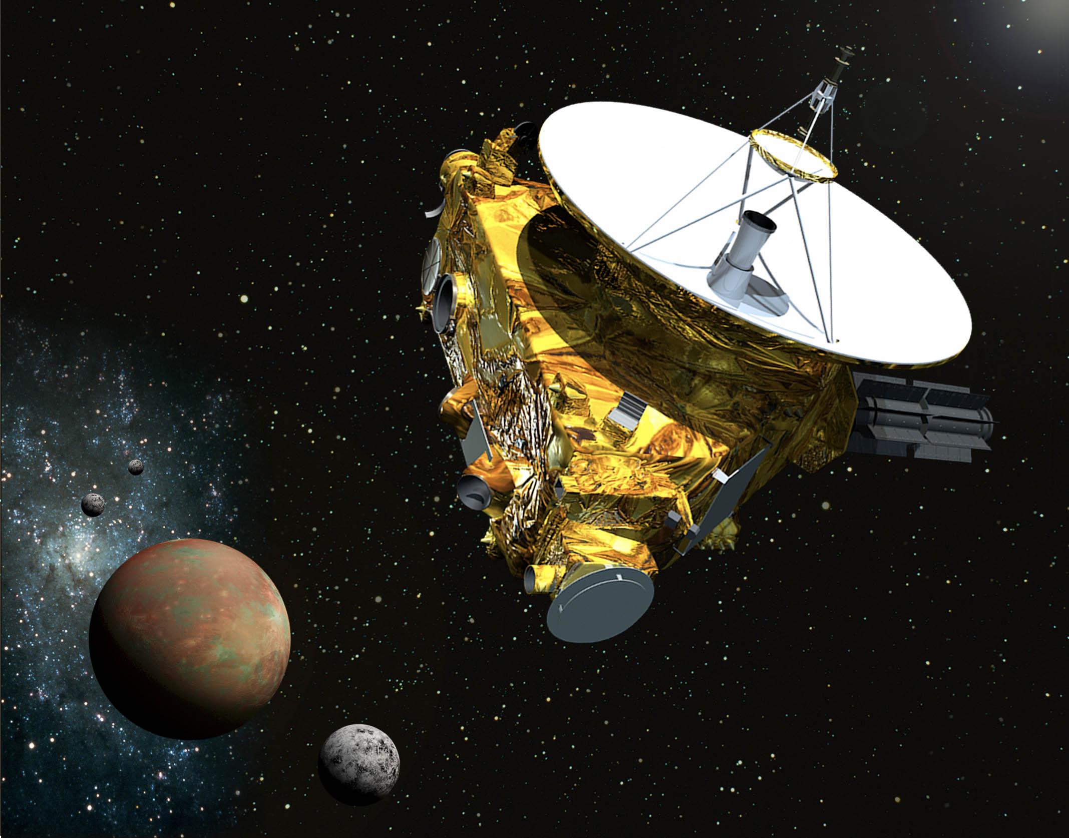 New Horizons, la sonda espacial de la Nasa más cerca de Plutón