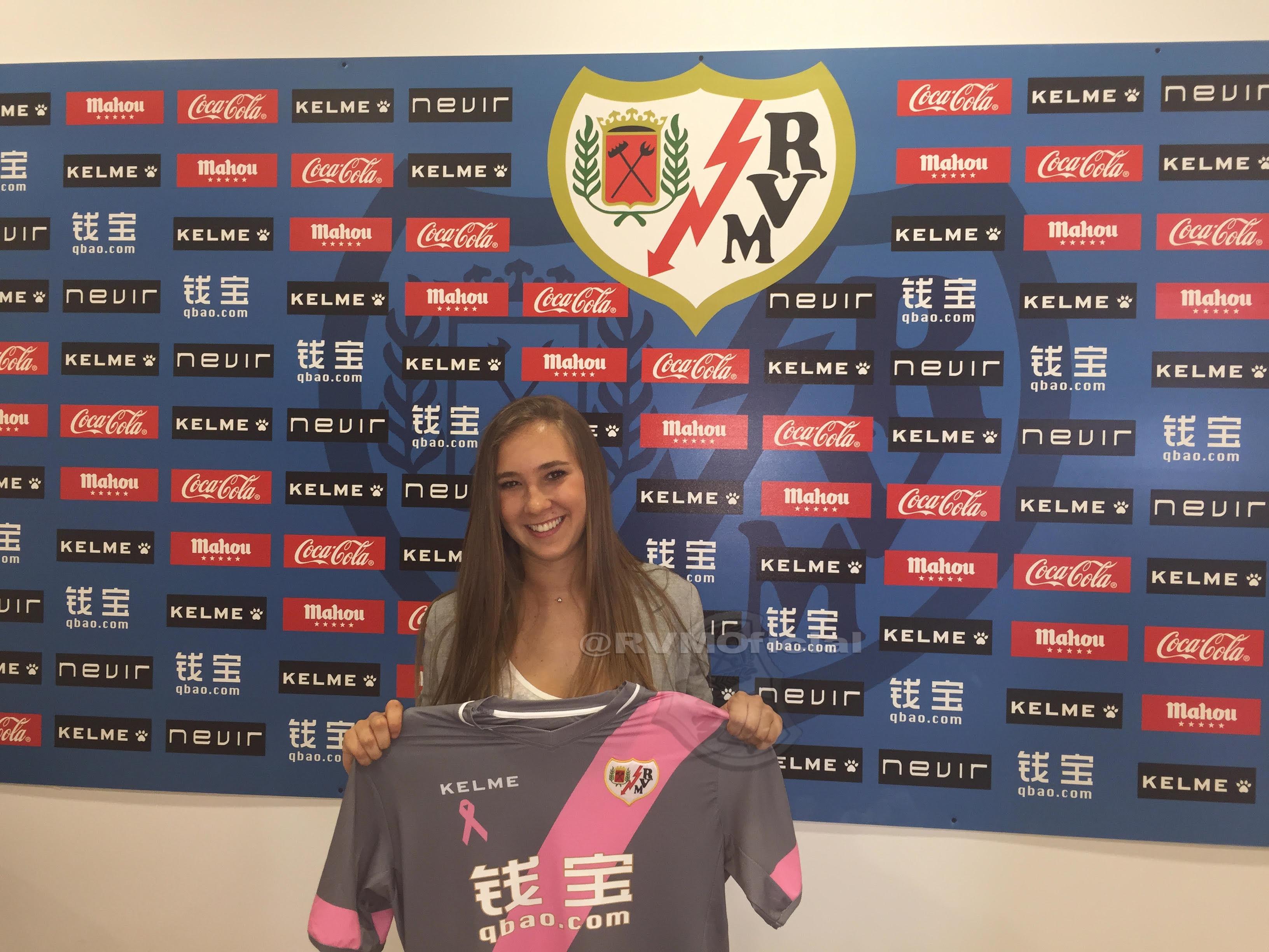Nicole Regnier llega al equipo femenino del Rayo Vallecano