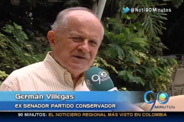 Villegas apoyará a Armitage y las candidaturas de R. Ortíz, W. Arias y Urrutia