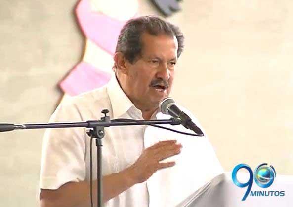 """Angelino Garzón dice que está """"bien de salud para dirigir Cali"""""""