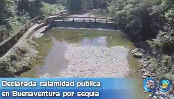 Declaran calamidad pública en Buenaventura por sequía en el río Escalerete