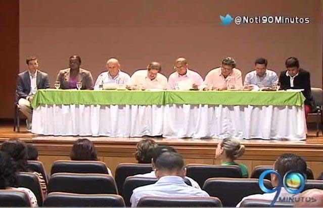 Candidatos a la Alcaldía asistieron a foro sobre Emcali