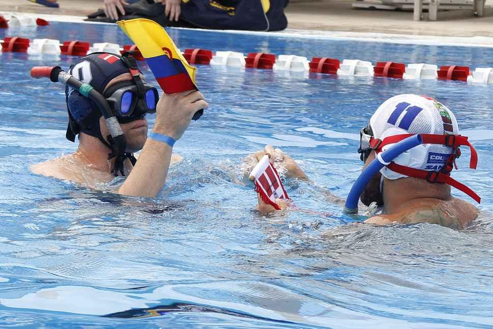 Colombia masculina pasó a las semifinales del Mundial de Rugby Subacuático