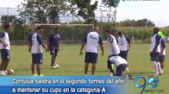 Cortuluá se prepara para su primer partido ante Envigado en el segundo semestre