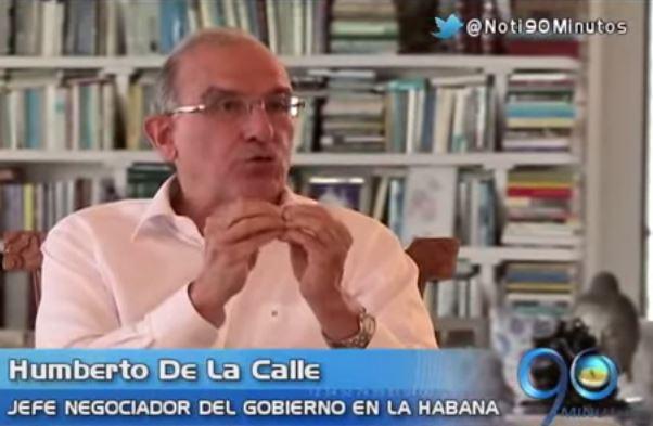 De La Calle aseguró que los diálogos en la Habana están en duda