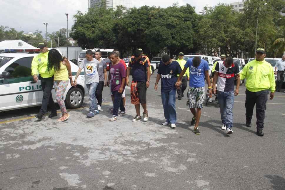 Policía desarticuló dos bandas delincuenciales en Siloé