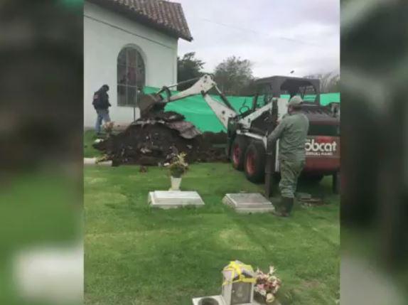 Fiscalía exhumó el cuerpo del magistrado Emilio Sandoval