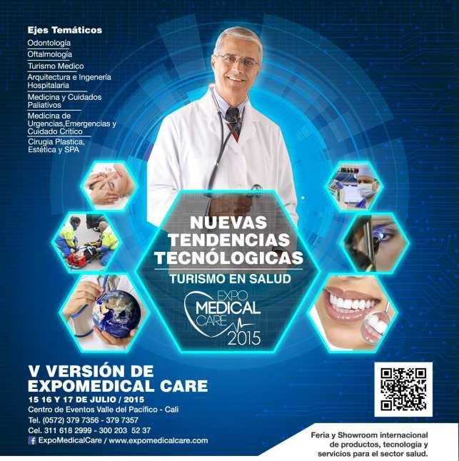 Llega el Expomedical Care, la Feria internacional de la salud