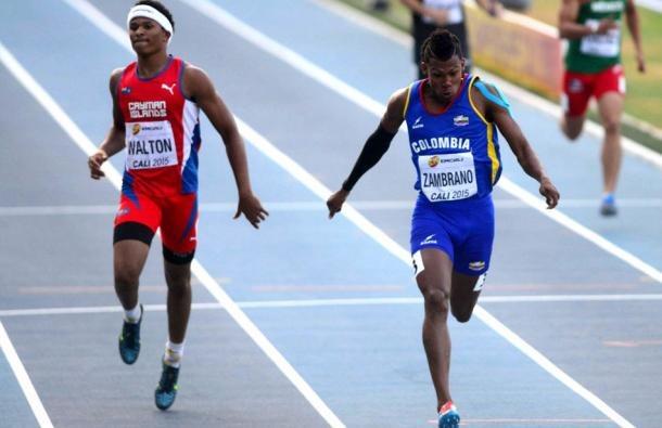 Zambrano fue séptimo en la prueba de los 400 metros del Mundial de Menores