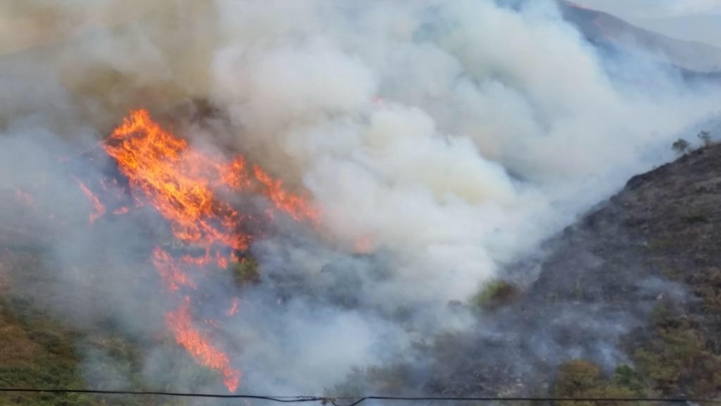 Incendio en Cristo Rey consumió más de 30 hectáreas de vegetación