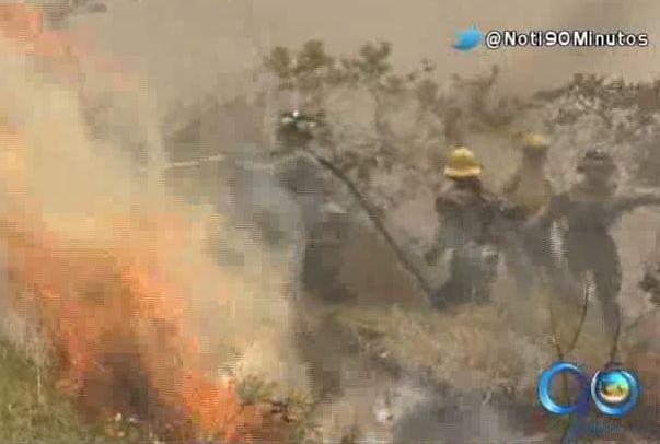 Bomberos advierten sobre aumento de incendios forestales en el Valle