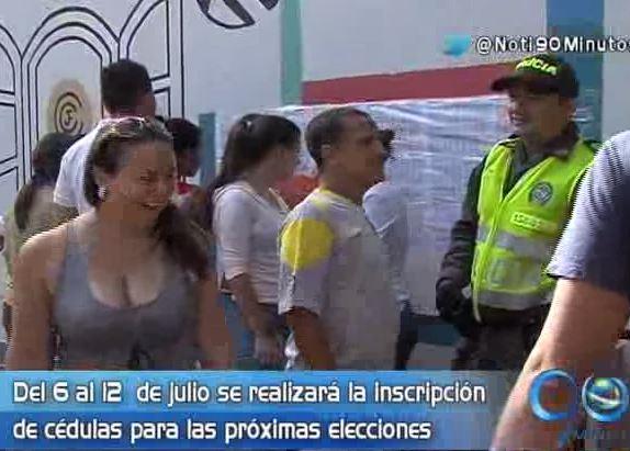 Se abrieron los puntos de inscripción de cédulas para las elecciones