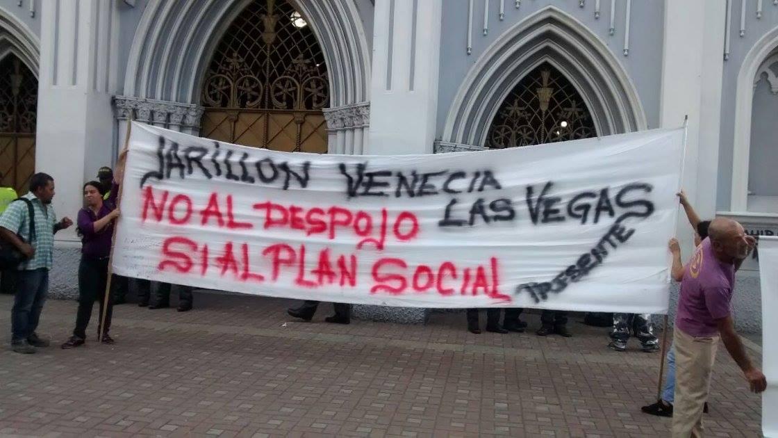 Manifestantes de la Ermita salieron tras acuerdos con Alcaldía