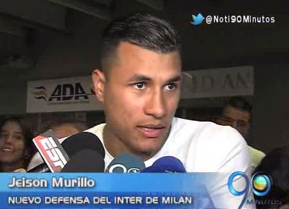 Jeison Murillo dejó la Copa y viajó a Italia para vincularse al Inter de Milán