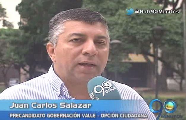 Juan Carlos Salazar recibió el aval de Opción Ciudadana para la Gobernación