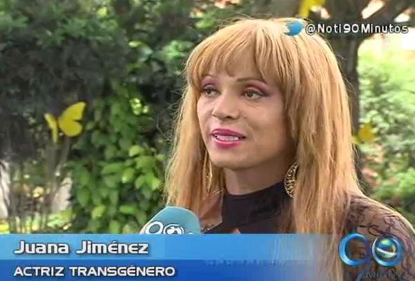 Actriz transgénero colombiana triunfa en Italia