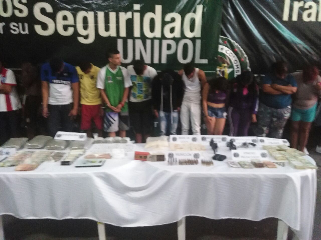 """Operación """"Júbilo"""" propina un duro golpe a la delincuencia en Cali"""