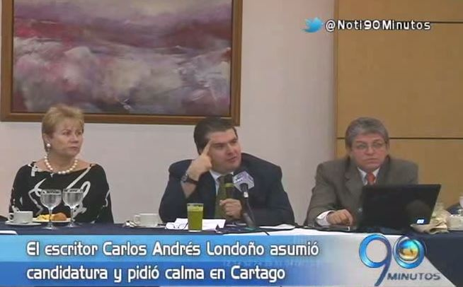 Tensa calma se vive en Cartago tras asesinato de Ignacio Londoño