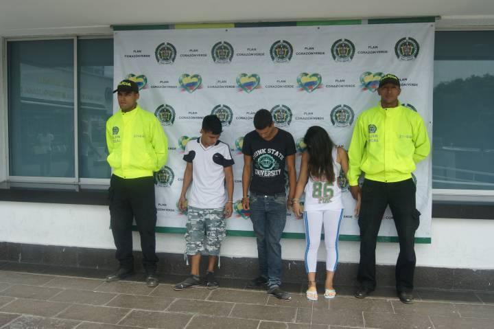 Capturados 'Los Patos', sindicados de extorsionar a taxistas en Cali