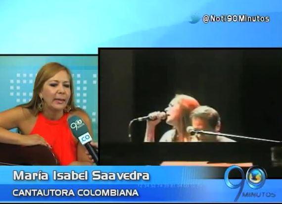 María Isabel Saavedra, cantautora orgullosamente vallecaucana