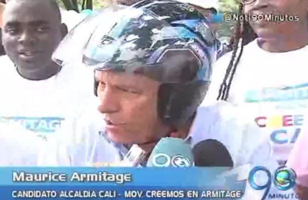Maurice Armitage inscribió su candidatura a la Alcaldía de Cali