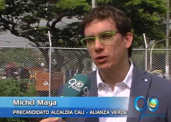 Partido Verde le dio el aval a Michel Maya para la Alcaldía de Cali