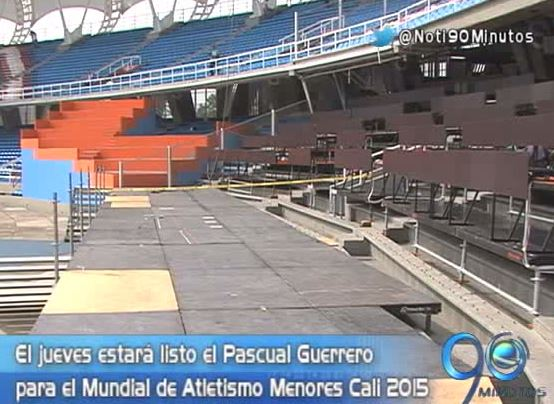 Autoridades revisaron la infraestructura para Mundial de Atletismo