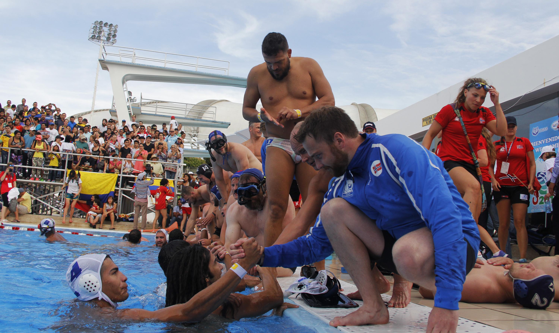 Las mejores imágenes de las dos jornadas del Mundial de Rugby Subacuático
