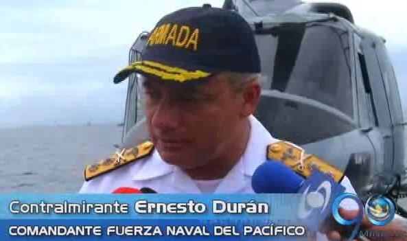Armada Nacional conmemora sus 192 años con ejercicios navales