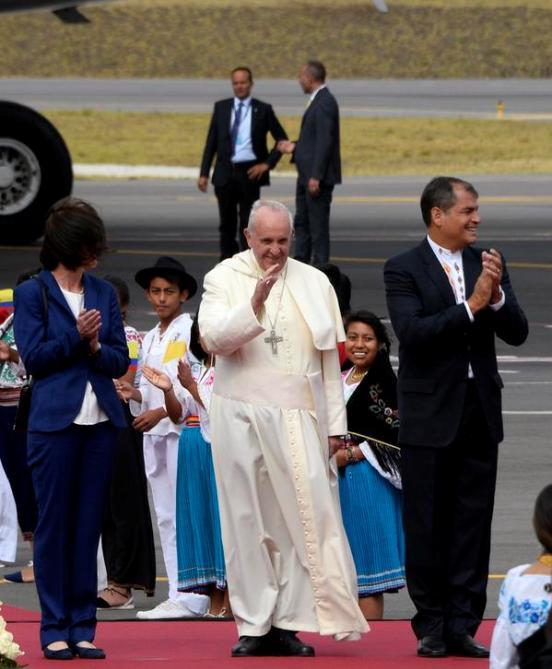 Un futuro mejor para las minorías, la deuda de América Latina: Papa