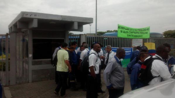 164 buses del Mío fuera del servicio por paro de conductores