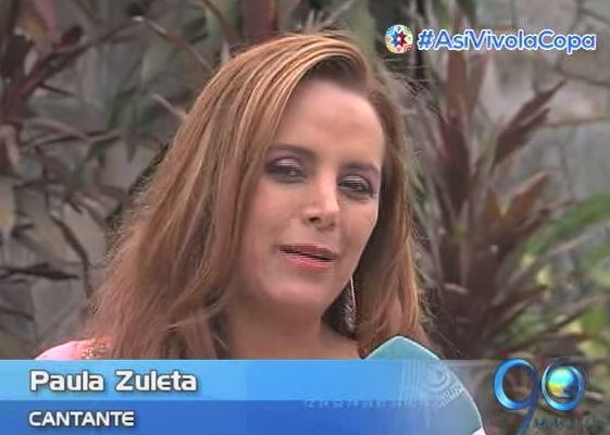 Paula Zuleta, de la salsa a la cumbia sin fronteras