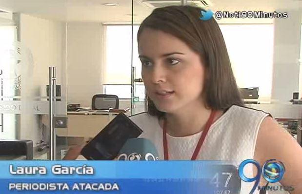 Plan Padrino a periodista que fue agredida con cuchillo