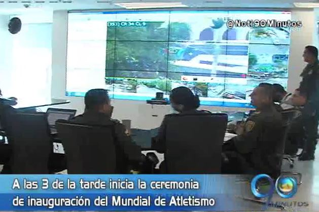 Policía tiene listo el plan de seguridad para el Mundial de Atletismo