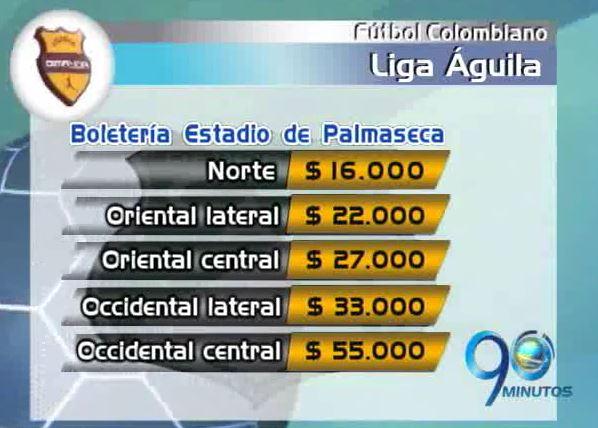 Estos son los precios de la boletería del partido entre Cali y Malaga