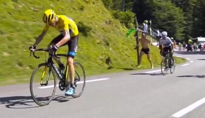 Nairo Quintana avanzó en la tabla pero perdió tiempo ante el líder