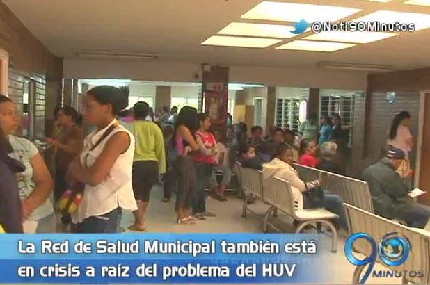 Red de Salud del Municipio inició plan de contingencia por crisis del HUV