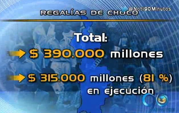 Regalías: Así han sido las inversiones en el Chocó