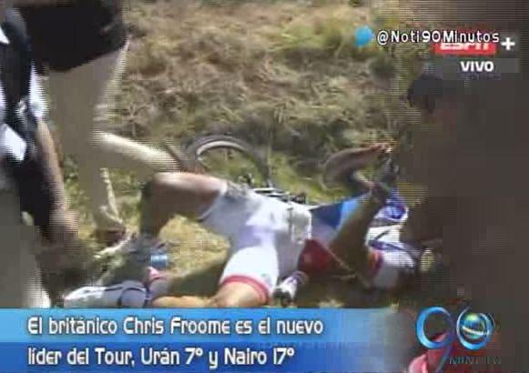 Caída masiva en la tercera etapa del Tour de France fue la protagonista