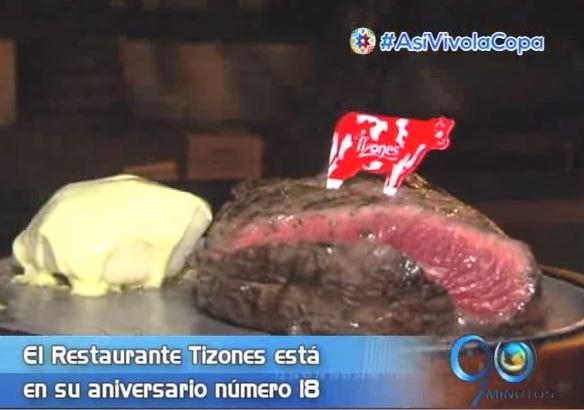 El Restaurante Tizones está de aniversario