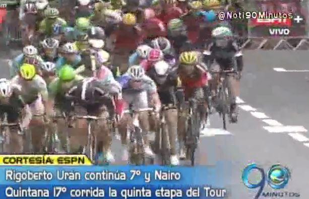 Rigoberto y Nairo se mantienen vivos en el Tour de Francia 2015